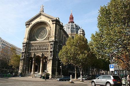 Церковь Святого Августина Сент-Огюстен