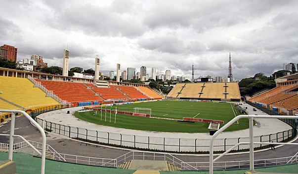 Стадион Пакаэмбу, Бразилия, Сан-Паулу