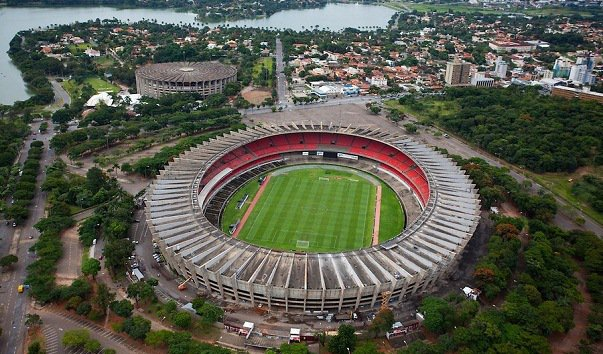 Футбольный стадион «Минейран», Бразилия, Бело Горизонте
