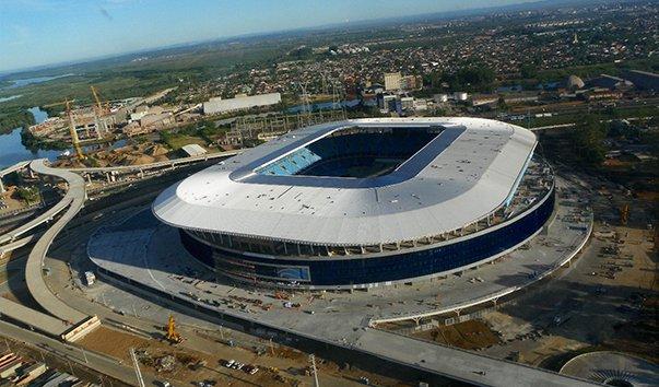 Футбольный стадион Arena das Dunas, Бразилия, Натал