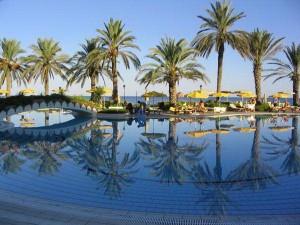 Курортный город в Турции Кемер