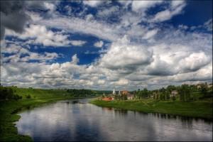 Исток реки Волга