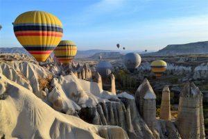 Турция и её пейзажи: Каппадокии