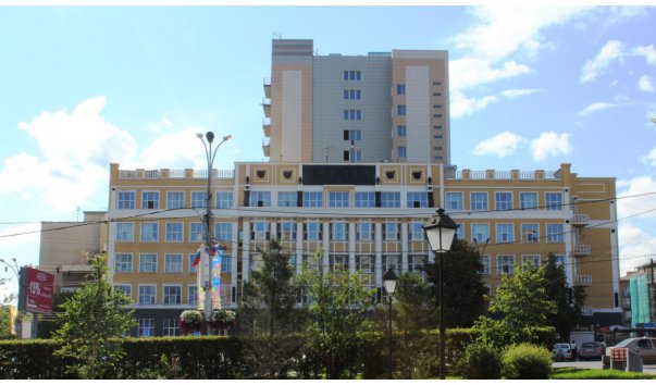 Административное здание треста «Запсибзолото»