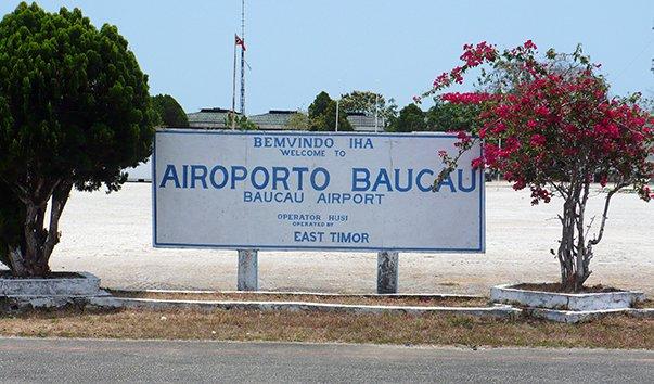 Аэропорт Баукау