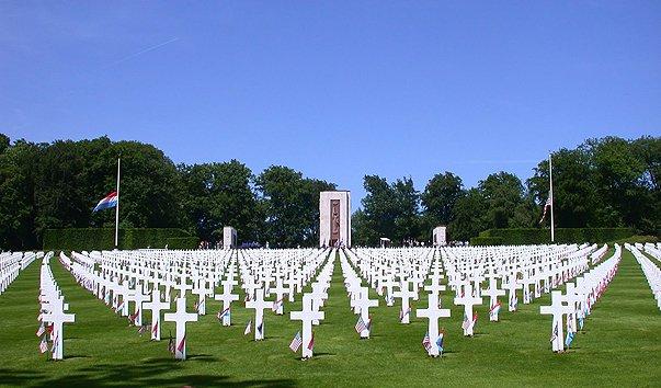 Американское кладбище и мемориал
