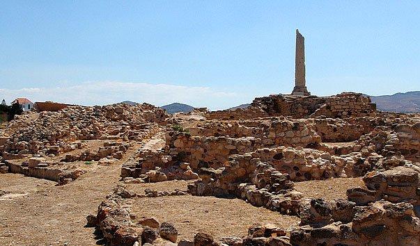 Археологический памятник Kolonna