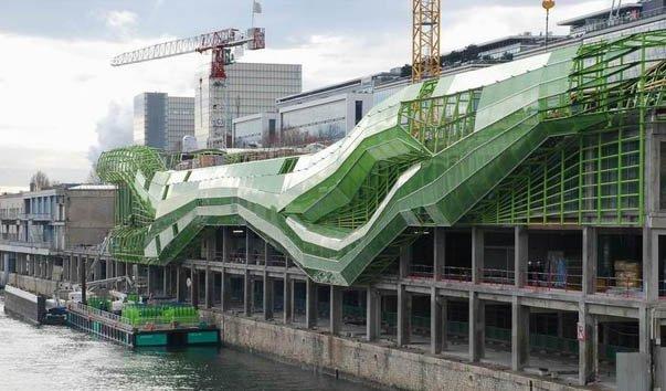 Архитектурный ансамбль Les Docks
