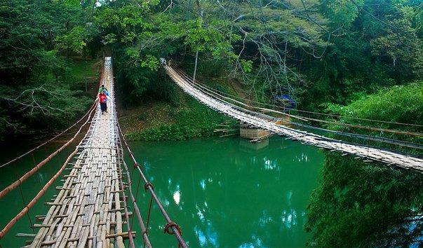 Бамбуковый Висячий Мост