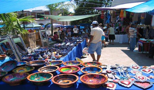 Блошиный рынок La Penita