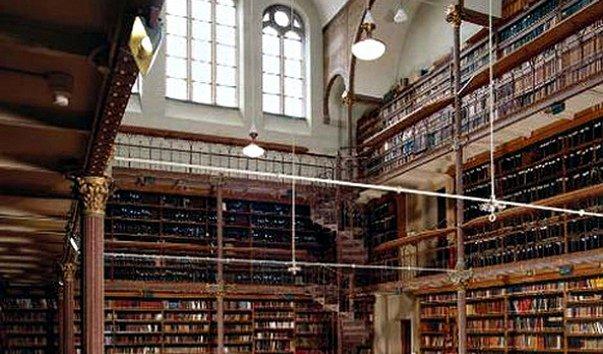 Читальный зал Государственного музея Амстердама