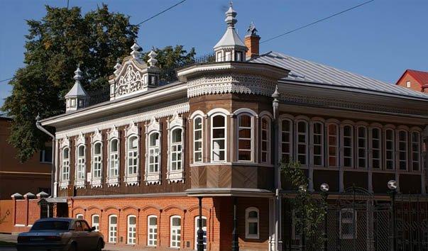 Дом Поповых