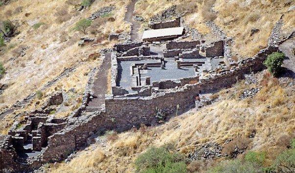 Древний город Гамла