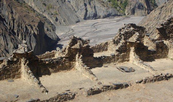 Древний город Исканвайя