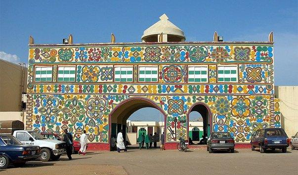 Дворец Эмира в Zazzau