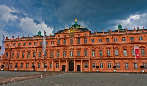 Дворец и дворцовый парк в Раштатте