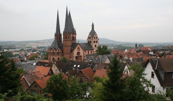 Евангелическая церковь Мариенкирхе Гельнхаузена