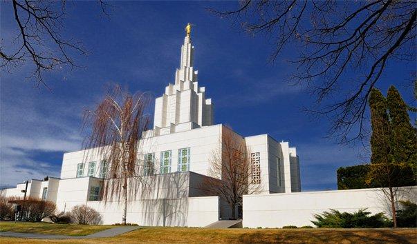 Храм Idaho Falls Idaho