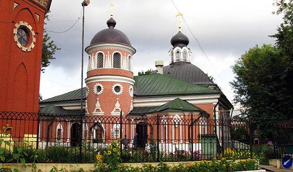 Храм Святителя Николая на Преображенском кладбище