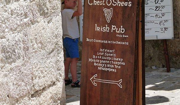 Ирландский паб Chest O`Shea`s