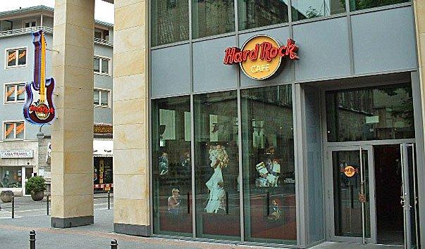 Кафе Hard Rock в Кельне
