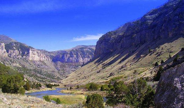 Каньон Wind River