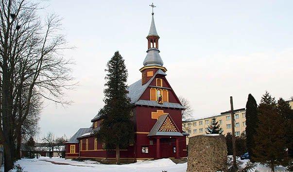 Костел Крестовоздвиженский