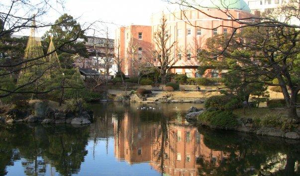Kyu-Yasuda Teien Garden