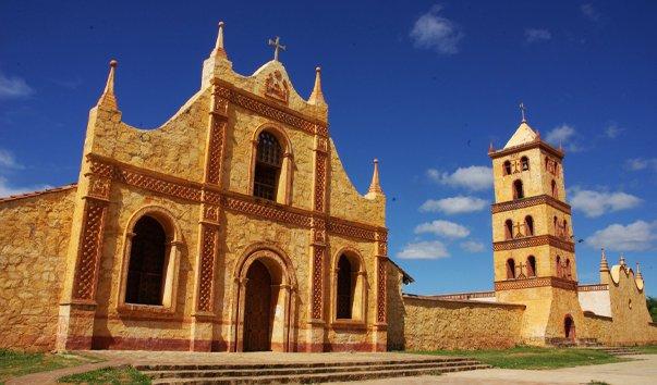 Миссия Сан Хосе de Chiquitos