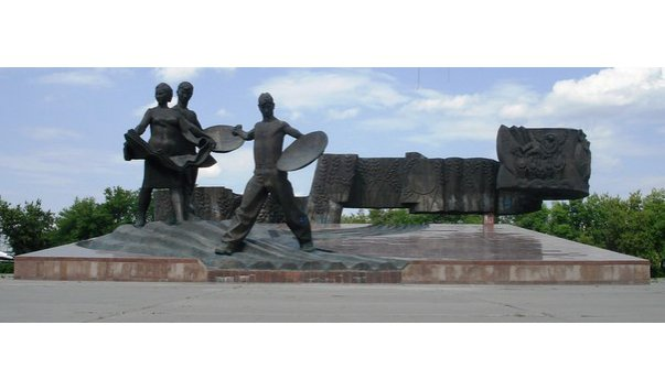 Монумент «Покорителям целины»