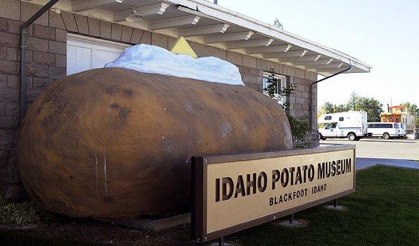 Музей картофеля штата Айдахо в Блэкфуте