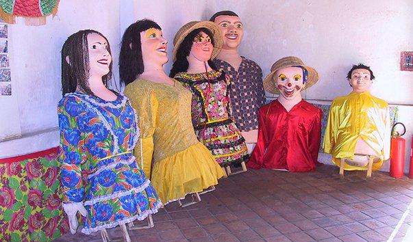 Музей кукол-великанов в Олинде