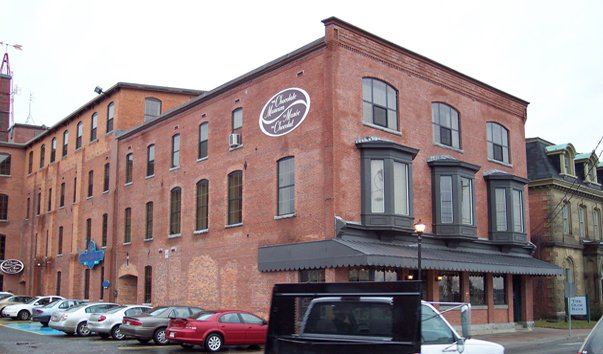 Музей шоколада Нью-Брансуик