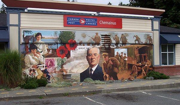 Настенные фрески в городе Чемейнус