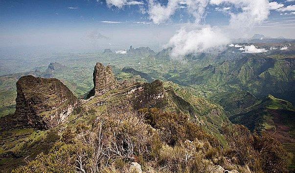 Национальный парк Горы Сымен