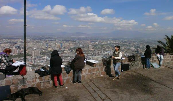 Обзорная площадка Мирадор-де-Сан-Кристобаль