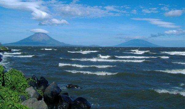 Озеро Никарагуа