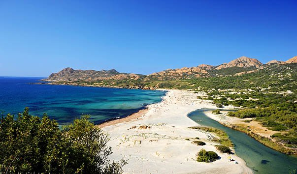 Пляж Острикони
