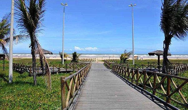Пляж Passarela do Caranguejo