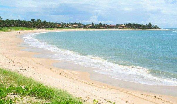 Пляж Табатинга в Натале