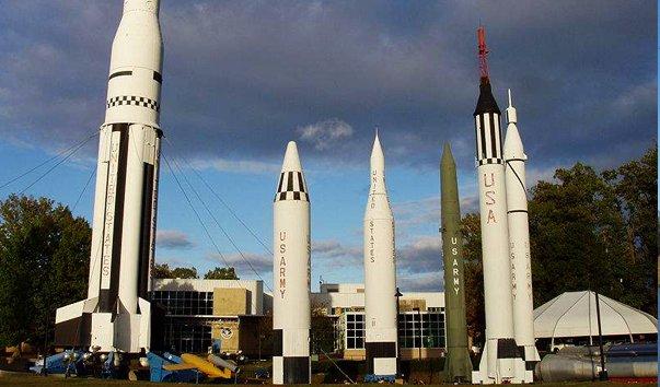 Ракетно-космический центр в Алабаме