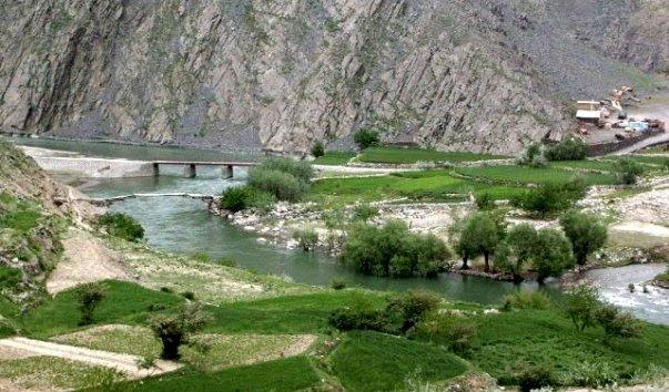 Река Панджшер