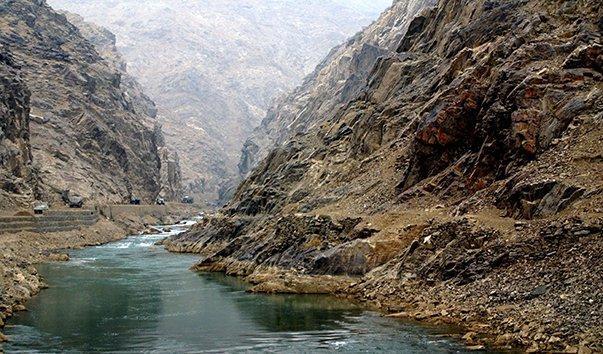 Река Теджен