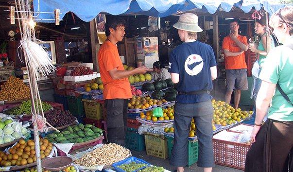 Рынок в Санхла Бури