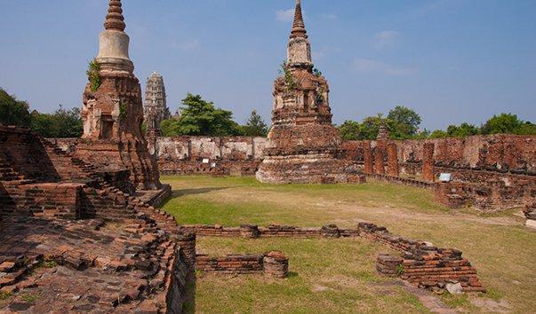 Руины исторического города Аютии