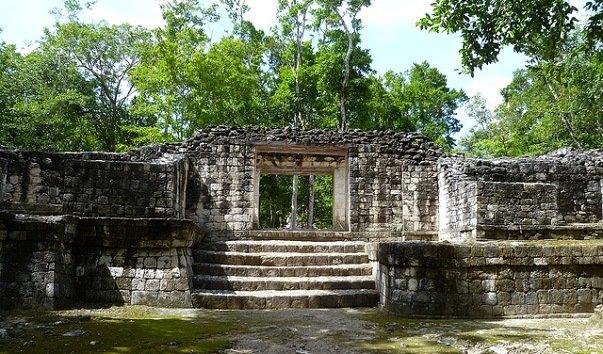 Руины майя Баламку