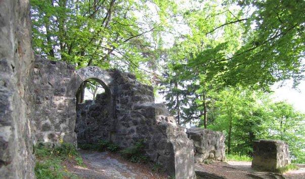 Руины замка Фриезенберг