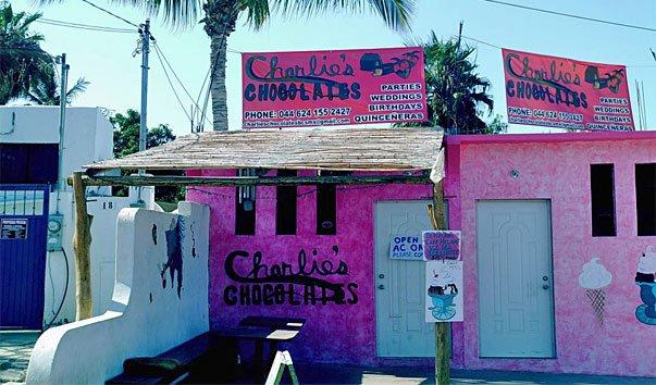 Шоколадный магазин «Чарли»