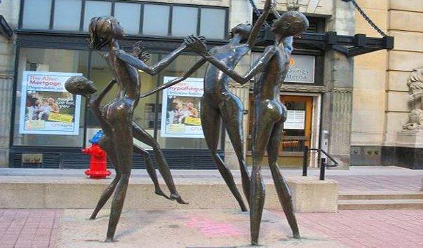 Скульптура Радость