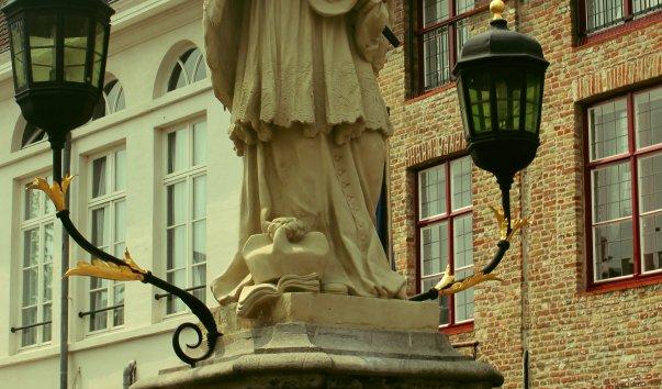 Скульптура св. Яна Непомуцкого